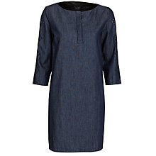 Buy Armani Jeans Chambray Dress, Denim Online at johnlewis.com