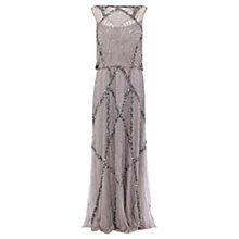Buy Coast Lumiere Embel Dress, Mink Online at johnlewis.com