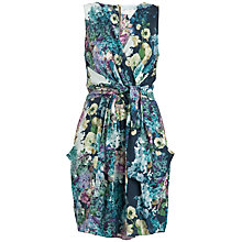 Buy Almari Floral Wrap Dress, Multi Online at johnlewis.com