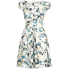 Buy Almari Floral V-Neck Dress, Multi Online at johnlewis.com