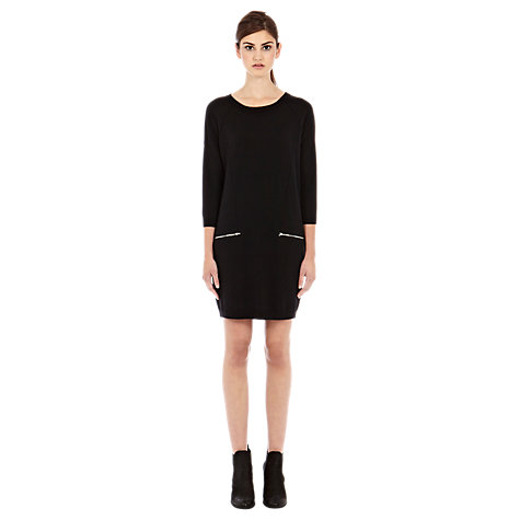 Buy Warehouse Zip Front Dress Online at johnlewis.com