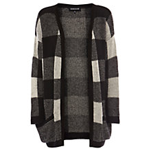 Buy Warehouse Dogtooth Cardigan, Black Online at johnlewis.com
