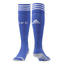 Buy Adidas Chelsea Boys Replica Home Socks 2013/2014, Blue/White Online at johnlewis.com