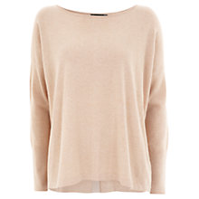 Buy Mint Velvet Knit Jumper, Camel Online at johnlewis.com