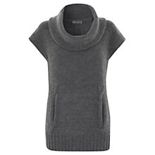 Buy Mint Velvet Cable Knit Tabard Jumper, Grey Online at johnlewis.com