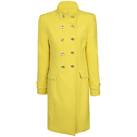 Buy True Decadence Double Breasted Mac, Yellow Online at johnlewis.com