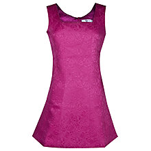Buy True Decadence Embossed Bell Dress, Hot Pink Online at johnlewis.com