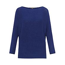 Buy Jigsaw Cashmere Blend Boat Neck Jumper Online at johnlewis.com