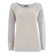 Buy Mint Velvet Sparkle Jumper, Grey Online at johnlewis.com