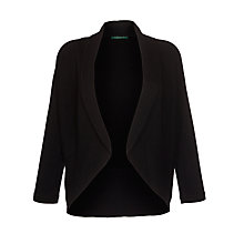 Buy Lauren by Ralph Lauren Three-Quarter-Sleeved Cardigan, Black Online at johnlewis.com