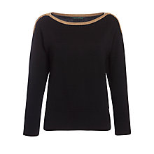 Buy Lauren by Ralph Lauren Ballet-Neck Cotton Jumper Online at johnlewis.com