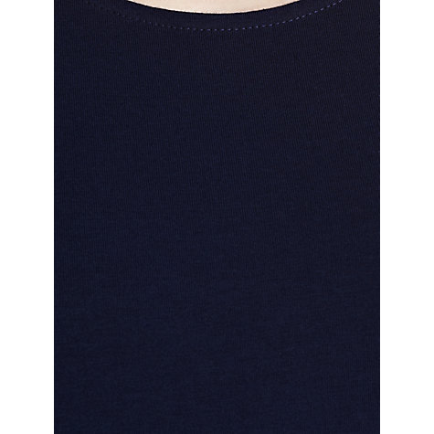 Buy Lauren by Ralph Lauren Scoop Neck Maxi Dress, Capri Navy Online at johnlewis.com