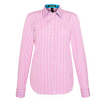 Buy Lauren by Ralph Lauren Long-Sleeved Fitted Workshirt Online at johnlewis.com