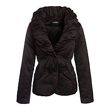Buy Lauren by Ralph Lauren Shawl-Collar Down Jacket, Black Online at johnlewis.com