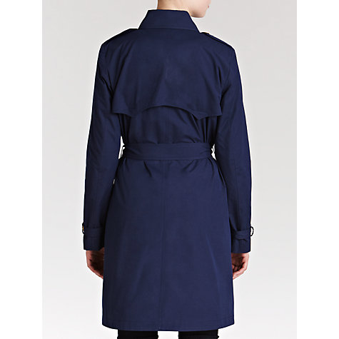 Buy Lauren by Ralph Lauren Trench Coat, Capri Navy Online at johnlewis.com