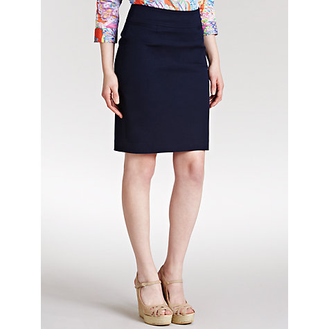 Buy Lauren by Ralph Lauren Stretch-Cotton Skirt Online at johnlewis.com