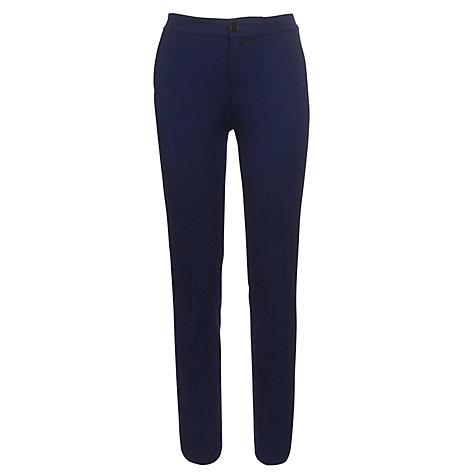 Buy Lauren by Ralph Lauren Slim Cotton Ankle Trousers Online at johnlewis.com