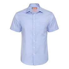 Buy Thomas Pink Worthington Check Shirt, White/Blue Online at johnlewis.com