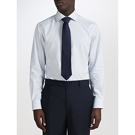 Buy John Lewis Twill Stripe Non-Iron Shirt Online at johnlewis.com