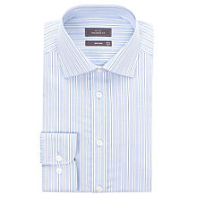 Buy John Lewis Non-Iron Oxford Stripe XL Sleeve Shirt Online at johnlewis.com