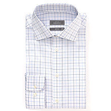 Buy John Lewis Twill Windowpane Non-Iron XL Sleeve Shirt Online at johnlewis.com