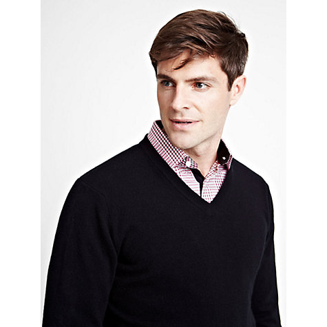 Buy Thomas Pink Bevil V-Neck Jumper Online at johnlewis.com