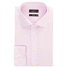 Buy John Lewis Check Long Sleeve Non Iron Shirt Online at johnlewis.com