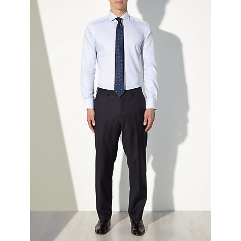 Buy John Lewis Grid Check Tailored Non-Iron Shirt Online at johnlewis.com