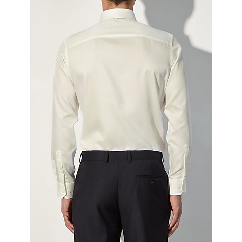 Buy John Lewis Non-Iron Satin Dobby Long Sleeve Shirt Online at johnlewis.com