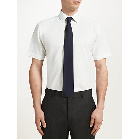 Buy John Lewis Cotton Linen Short Sleeve Shirt Online at johnlewis.com