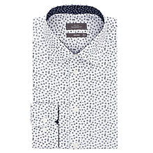 Buy John Lewis Ditsy Floral Print Tailored Long Sleeve Shirt Online at johnlewis.com