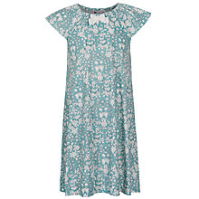 Buy John Lewis Girl Daisychain Print Nightdress, Turquoise Online at johnlewis.com