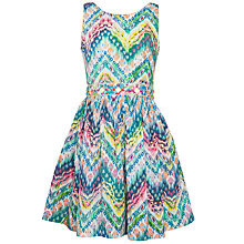 Buy Derhy Kids Girls' Cherie Aztec Print Dress, Multi Online at johnlewis.com