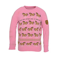 Buy Barbour Angel Horse Jumper, Clover Online at johnlewis.com