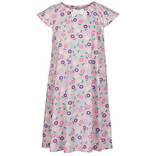 Buy John Lewis Girl Floral Print Nightdress, Pink/Multi Online at johnlewis.com