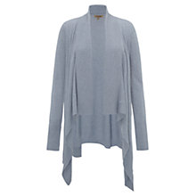 Buy Jigsaw Waterfall Ribbed Front Cardigan Online at johnlewis.com