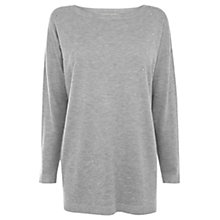 Buy Oasis Hotfix Longer Line Jumper Online at johnlewis.com