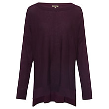 Buy Jigsaw Slouchy Boat Neck Jumper Online at johnlewis.com