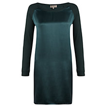 Buy Jigsaw Silk Front Raglan Dress Online at johnlewis.com