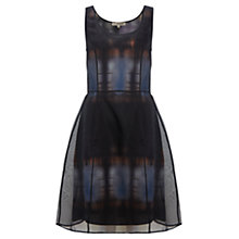 Buy Jigsaw Organza Dress, Midnight Online at johnlewis.com