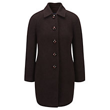 Buy Viyella Ella Cocoon Coat, Berry Online at johnlewis.com