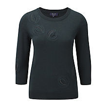Buy Viyella Ella Embroidered Jumper, Poison Ivy Online at johnlewis.com
