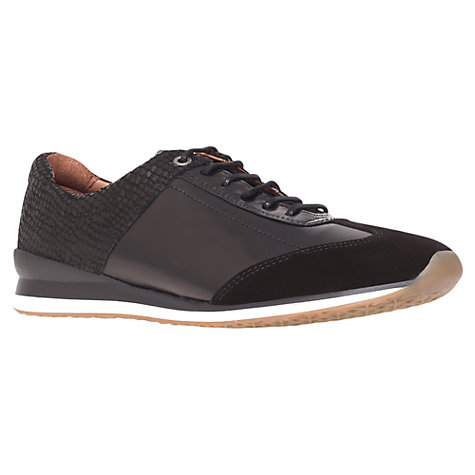 Buy KG by Kurt Geiger Cromer Combination Leather and Suede Trainers Online at johnlewis.com