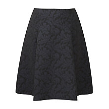Buy Viyella Ella Skirt, Black Online at johnlewis.com