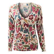Buy East Abigaila Print Jumper, Mutli Online at johnlewis.com
