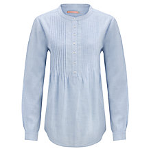 Buy John Lewis Slub Pintuck Shirt Online at johnlewis.com