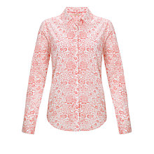 Buy John Lewis Archive Paisley Shirt, Pink Online at johnlewis.com