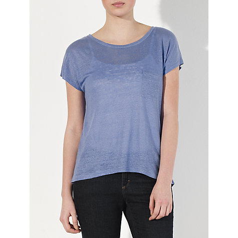 Buy Collection WEEKEND by John Lewis Linen Top Online at johnlewis.com