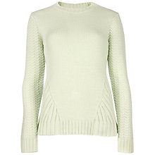 Buy Ted Baker Wahis Jumper, Pale Green Online at johnlewis.com