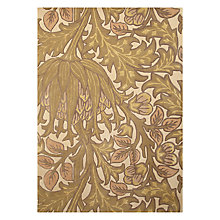 Buy Wiliam Morris Artichoke Rug, Green Online at johnlewis.com